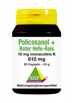 Policosanol + Roter Hefe-Reis