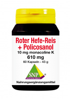 Roter Hefe-Reis + Policosanol
