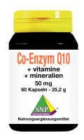 Co-enzym Q10 + Vitamine + Mineralien