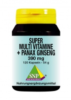 Super Multi Vitamine + Panax Ginseng
