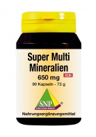 Super Multi Mineralien 650 mg Rein