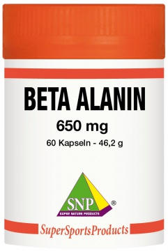 Beta-Alanin 650 mg Rein